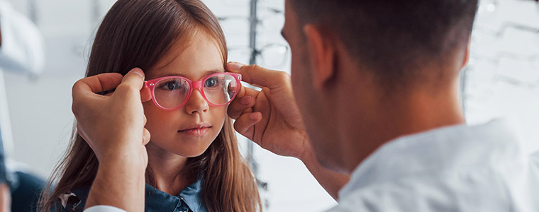 Choosing glasses for kids