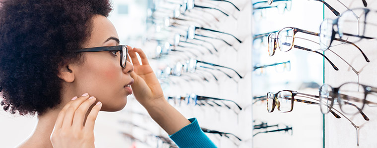 Glasses frames choice