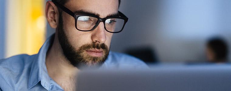 VDU glasses and computer eye strain